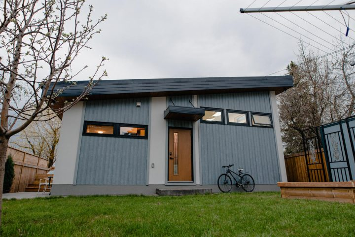 Carbon-Negative Backyard House