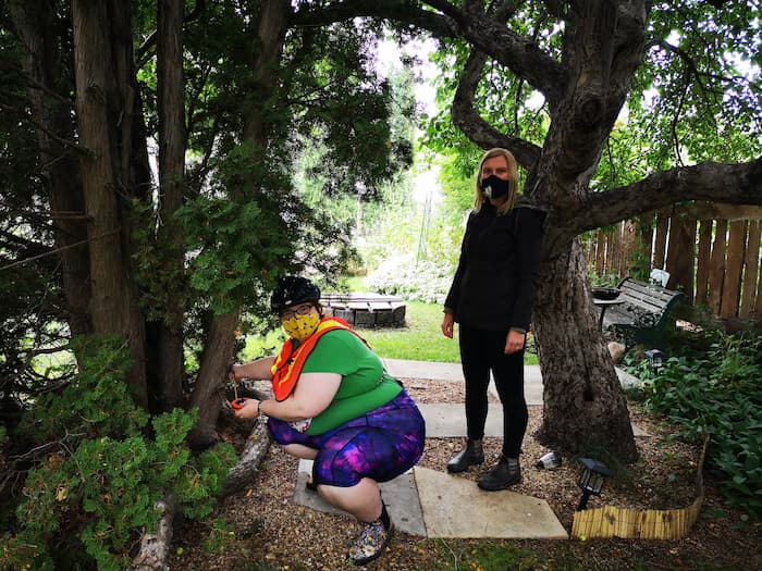 Our first day of Tree Measuring! – The Private Urban Forest